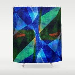 Geometric Design ############## Shower Curtain