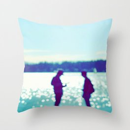 Covenant of the Pacifist Regime Throw Pillow