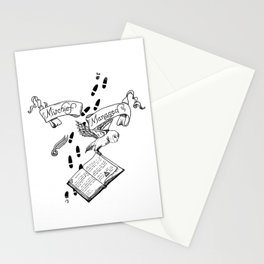 Mischief Managed Stationery Cards