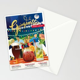 Guinguettes Stationery Cards