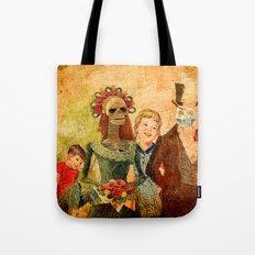 le mariage de Marcel et Lucette Tote Bag