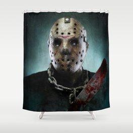 Jason Voorhees Shower Curtain