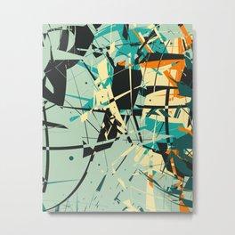 CRASH 4 Metal Print