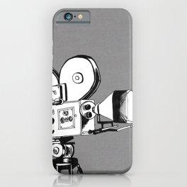 vintage filming iPhone Case