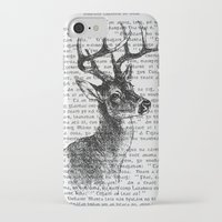 irish iPhone & iPod Cases featuring Irish Deer by CrowBiz