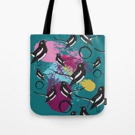 Magpie splash Tote Bag