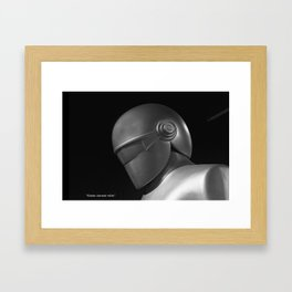 Klaatu 1 Framed Art Print