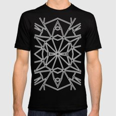 Ab Star MEDIUM Black Mens Fitted Tee
