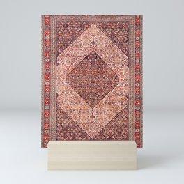 Sehna Kurdish Northwest Persian Rug Print Mini Art Print