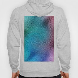 Colourful Circles Background Hoody