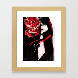 Wounds and Scars Framed Art Print