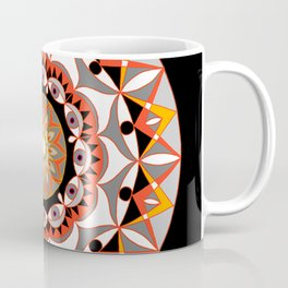 My Solar Plexus Mandhala | Secret Geometry | Energy Symbols Coffee Mug