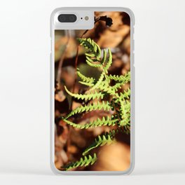 Gold 6 Clear iPhone Case