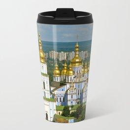 Golden Domes of  Kiev Travel Mug