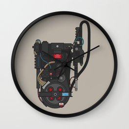 Don't Cross The Streams Wall Clock