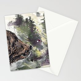 Boreal Bear Stationery Cards