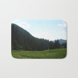 green beautiful nature Bath Mat