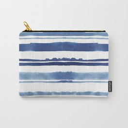 Watercolor Stripe Carry-All Pouch
