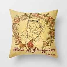 Petite L'Escarpolette Throw Pillow