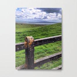 Irish Landscape Metal Print