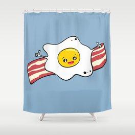 Egg 'n' Bacon Shower Curtain