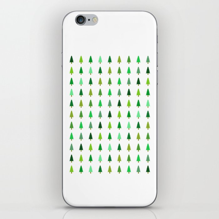 99 trees, none of them a problem iPhone Skin