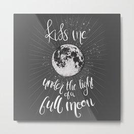 Lunar Kiss Metal Print
