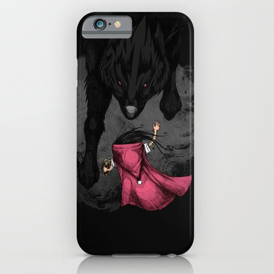 Big Bad Wolf iPhone & iPod Case