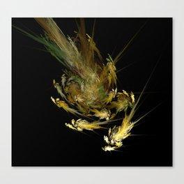 Spiral Swarm Canvas Print