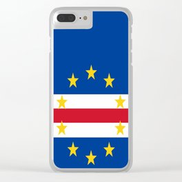 Flag of Cape Verde Clear iPhone Case