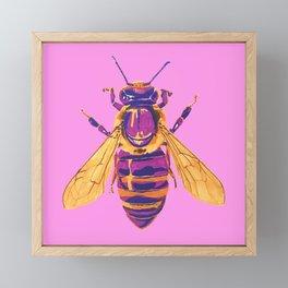 Honey Bee Framed Mini Art Print