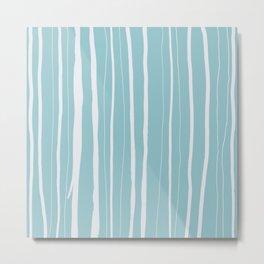 Vertical Living Salt Water Metal Print