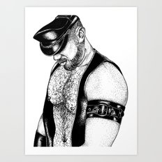 handsome hardcore Art Print