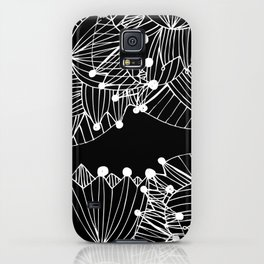 Black Tulip iPhone Case