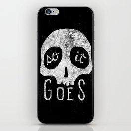 So It Goes iPhone Skin