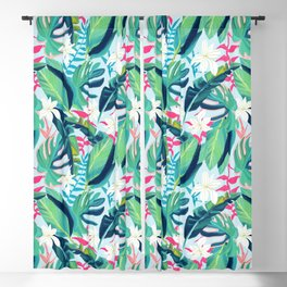 Tropical Eye Candy #painting #illustration #nature Blackout Curtain