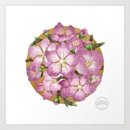 Sakura Valentine Art Print