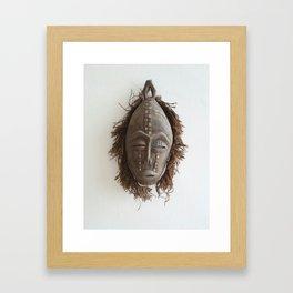 We All Wear A Mask Framed Art Print