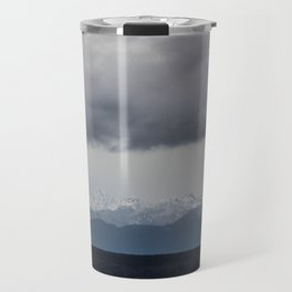 Olympic Mountains, Hansville, WA Travel Mug