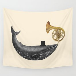 Whale Song Wall Tapestry