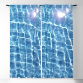 Dive in and Relax Blackout Curtain