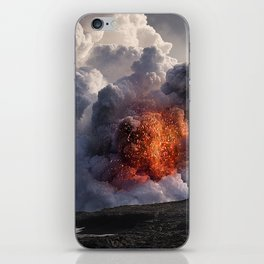 Kilauea Volcano at Kalapana 8 iPhone Skin