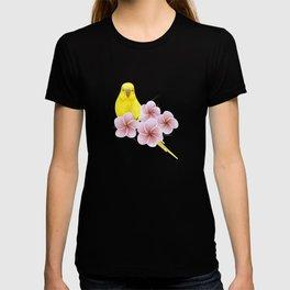 Yellow Budgerigar T-shirt