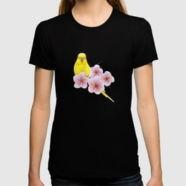 Yellow Budgerigar T-shirt