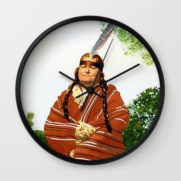 Chickasaw Wall Clock