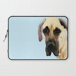 Great Dane Art - Dog Painting by Sharon Cummings Laptop Sleeve