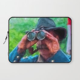 Surveying The Battlefield Laptop Sleeve
