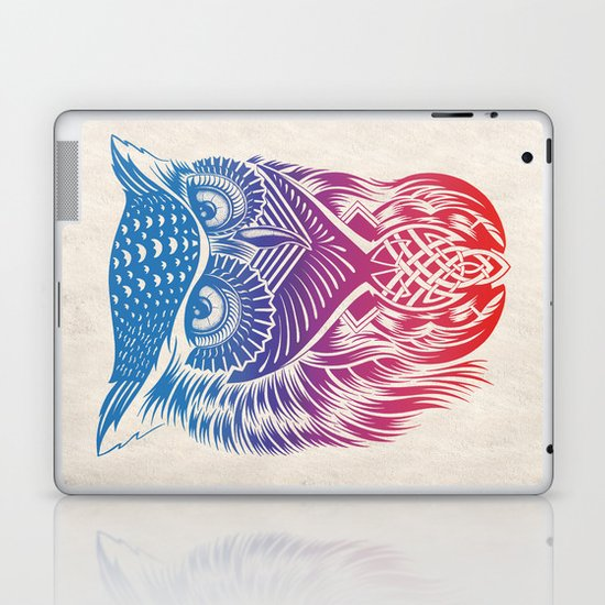 Owl of Color Laptop & iPad Skin