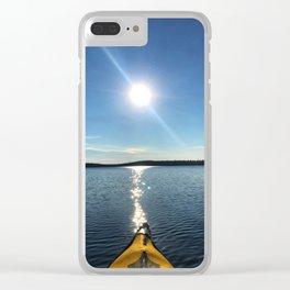 Solitude - Cree Lake, Saskatchewan Clear iPhone Case