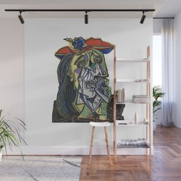 picasso weeping woman Wall Mural